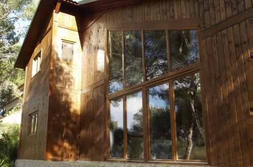 exterio casa de madera prefabricada Vilas Anderson