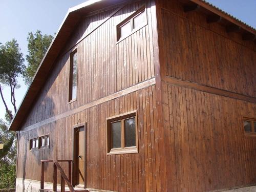exterior - entrada - casa de madera prefabricada Vilas Anderson