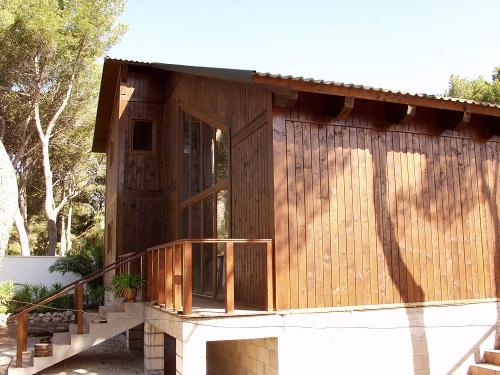 exterior casa de madera prefabricada Vilas Anderson