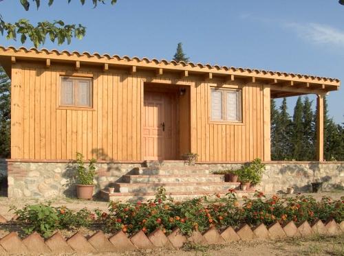 pequeña casa de madera prefabricada Vilas Anderson