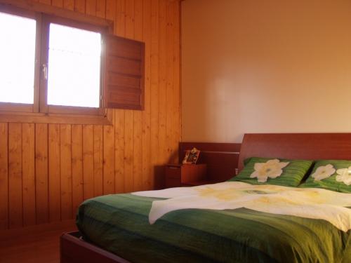habitación casa de madera prefabricada Vilas Anderson