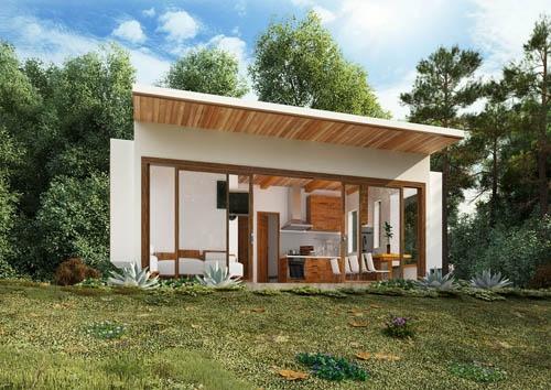 vilas anderson bungalow moderno vista exterior