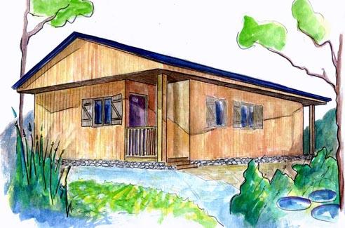 plano casa de madera halmstad