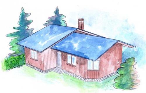 plano casa de madera kilsmo