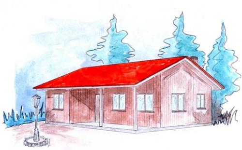 plano casa de madera molkom