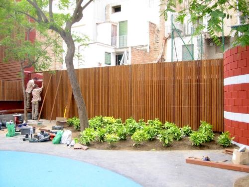 cerramiento jardines ayuntamiento