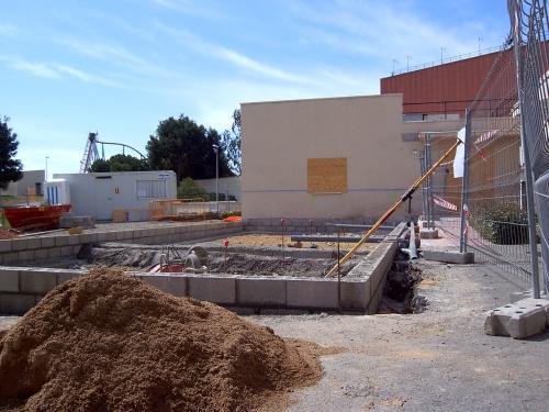 montaje centro medico paredes prefabricadas