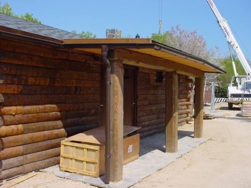 montaje casa prefabricada para parque temático