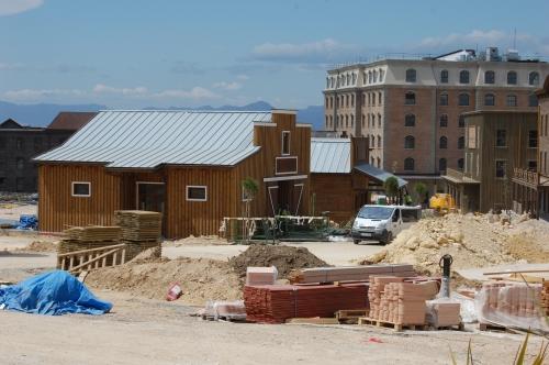 montaje estructuras para parque átetmáico