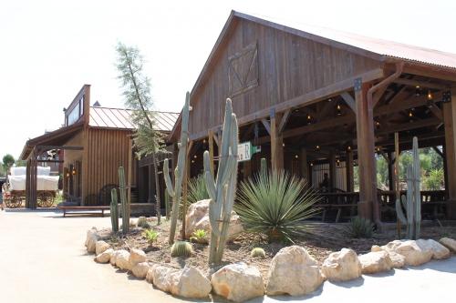 restaurante en parque temático
