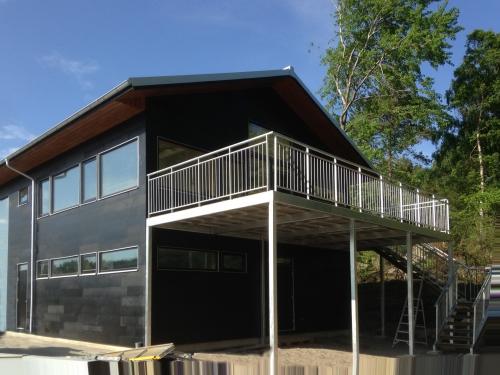 residencia prefabricada para deportista