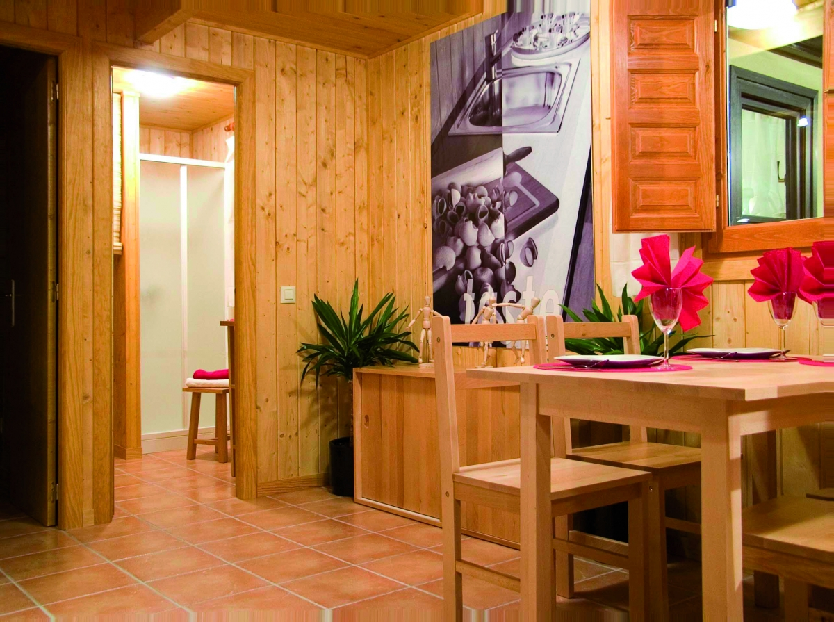 camping, mobil-home, interior