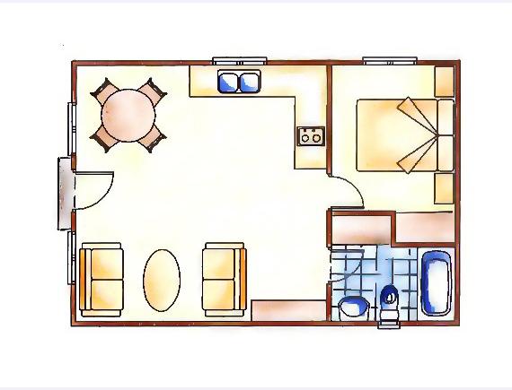 plano bungalow vilas anderson kiruna