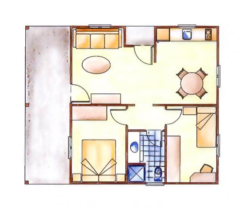 plano bungalow vilas anderson torsas