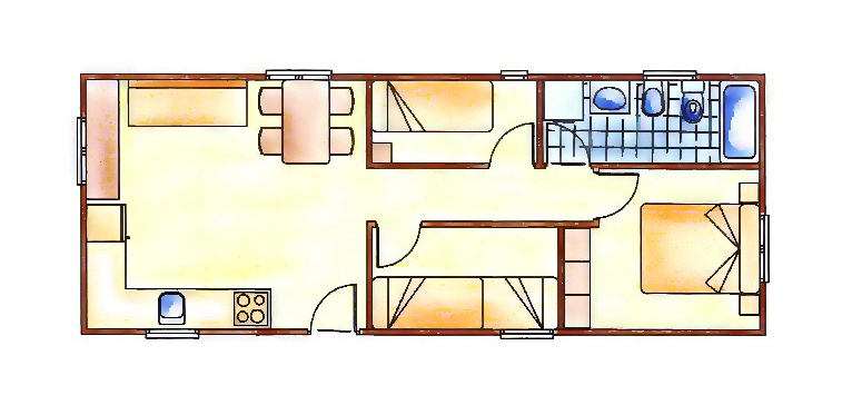 plano mobil home erica3h