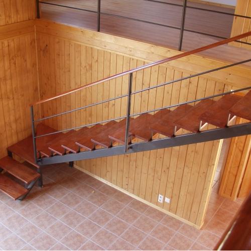 escalera interior, vilas anderson