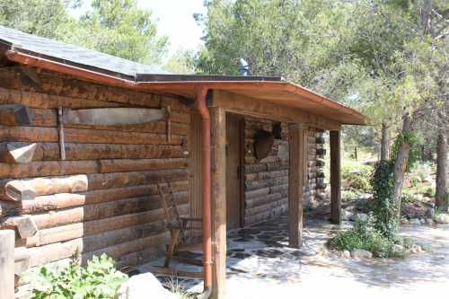 casa de madera para parque tematico