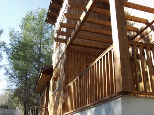 terraza pergola para casa