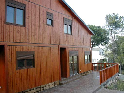 casa unifamiliar madera PB+1