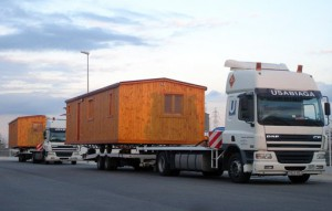 Mobil Homes - transporte