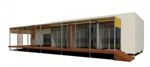 casas prefabricadas de madera - vivienda prefabricada sostenible