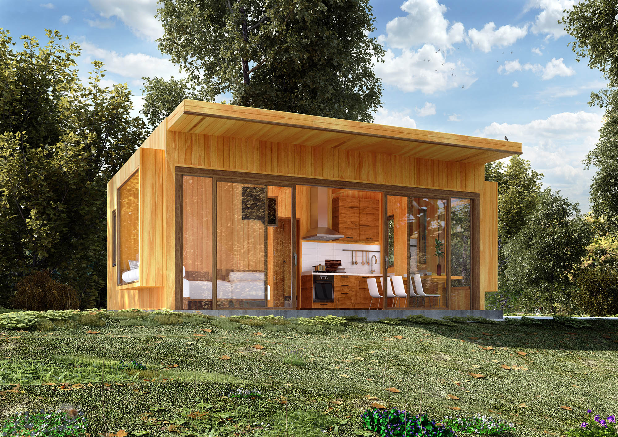 Bungalow Cubox - Glamping